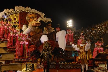 Don Quixote, the theme of União da Ilha